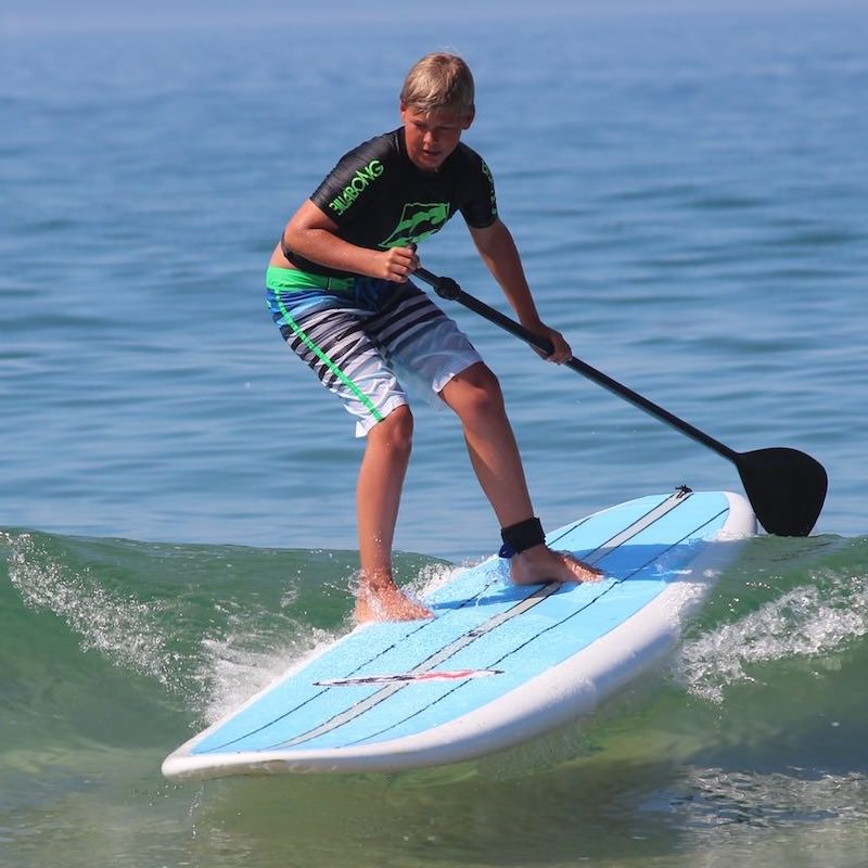 Stand Up Paddleboarding at ANOTHER SURF CAMP